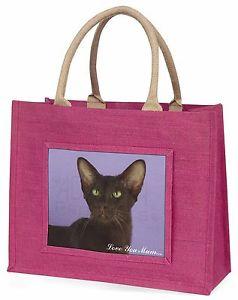 【送料無料】ハバナピンクショッピングバッグクリスマスプレゼントhavana cat love you mum large pink shopping bag christmas present, ac97lymblp