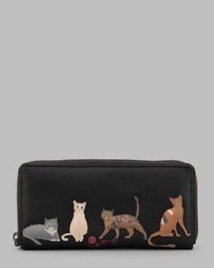 【送料無料】猫 ネコ キャット バッグ 小物 zip