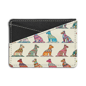 【送料無料】猫 ネコ キャット バッグ 小物 エジプトパターンクレジットカードホルダーウォレットegyptian cat pattern credit card holder wallet s3737