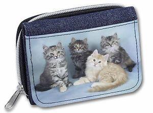 【送料無料】猫 ネコ キャット バッグ 小物 レディースデニムクリスマスcute fluffy kittens girlsladies denim purse wallet christmas gift idea, ac56jw