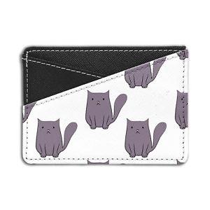 【送料無料】猫 ネコ キャット バッグ 小物 パターンクレジットカードホルダーウォレットcute cat pattern credit card holder wallet s6011