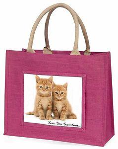 【送料無料】ジンジャー##ピンクショッピングバッグクリスマスginger kittens 039;love you grandma039; large pink shopping bag christmas, ac61lygblp