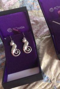 【送料無料】猫 キャット ネコ イヤリング ピアスカーリーテールセルティックピューターイヤリングコーンウォールlimited edition curly tail celtic cat pewter earrings made in cornwall