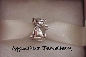 【送料無料】ネコ 猫 ネックレス スターリングシルバーヨーロッパブレスレットビーズボックスcat sterling silver european charm bracelet bead free gift box