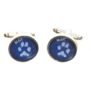 【送料無料】ネコ 猫 ネックレス ペットプリントカフスボタンプリントカフスボタンペットpet paw print cufflinks dog or cat paw print cufflinks ideal for a pet lover