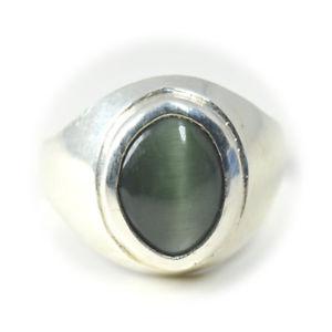 【送料無料】ネコ 猫 ネックレス #シルバーリングチャクラヒーリングサイズgenuine cat039;s eye quartz silver ring 7 ct bold gemstone chakra healing size hz3