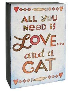 【送料無料】猫 ネコ キャット 置物 バケット##ボックスウォールサイン