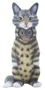【送料無料】猫 ネコ キャット 置物 テーママウス
