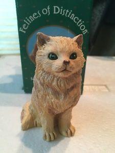 【送料無料】猫 ネコ キャット 置物 ペルシャruss felines of distinction standing persian cat figurine