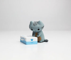 【送料無料】猫 ネコ キャット 置物 neko atsumenekono kyuujitsup1no2toy neko atsume cat nekono kyuujitsu p1 figure collection no2 misty