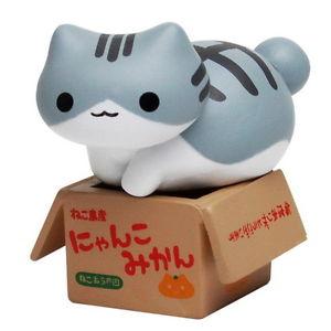 【送料無料】猫 ネコ キャット 置物 フィギュアコレクションピクルス