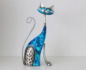 【送料無料】猫 ネコ キャット 置物 インチアールデコ13inch cat statue figurine ornament novelty decorative art deco 27cm