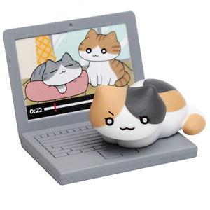 【送料無料】猫 ネコ キャット 置物 neko atsumenekono kyuujitsup2no4キャリーtoy neko atsume cat nekono kyuujitsu p2 figure collection no4 callie