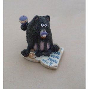 【送料無料】猫 ネコ キャット 置物 bundle of joyロブスコットン5cmsplat the cat collectable figurine bundle of joy 5cm by rob scotton