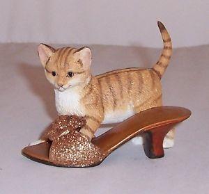 【送料無料】猫 ネコ キャット 置物 ベアトリスcountry artists cat beatrice with shoe