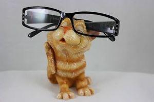 【送料無料】猫 ネコ キャット 置物 ホルダジンジャーoptipets optipaws cat eyeglass holder ginger tabby scratching comet