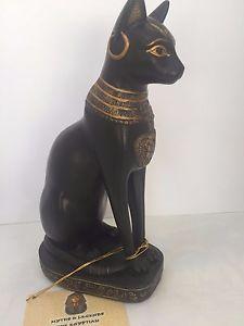 【送料無料】猫 ネコ キャット 置物 エジプトバステトキャット
