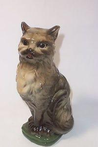 【送料無料】猫 ネコ キャット 置物 ビンテージキャッチタンクガルニエアンギャンフランスグッズrare vintage cat decanter p garnier enghien france cats collectibles