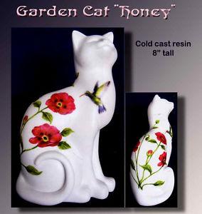 【送料無料】猫 ネコ キャット 置物 ##ガーデンコレクション cat 034;honey034; cats in the garden collection figurine