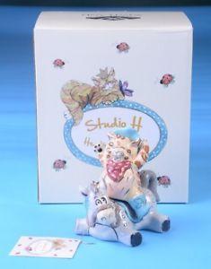 【送料無料】猫 ネコ キャット 置物 コショウシェーカーヒースride em catboy horse cat salt pepper shaker figurine heather goldmine studio h