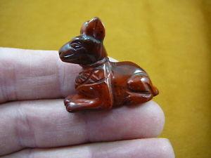 【送料無料】猫 ネコ キャット 置物 リトルレッドエジプトスフィンクスycatls564 little red egyptian sphinx cat gemstone carving figurine statue