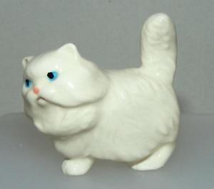 【送料無料】猫 ネコ キャット 置物 ミニチュアペルシャhagenrenaker miniature ceramic animal figure fat cat persian 40972