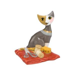 【送料無料】猫 ネコ キャット 置物 rosina wachtmeister cats laroro a mano 8