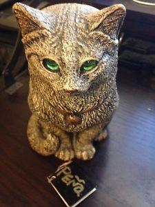 【送料無料】猫 ネコ キャット 置物 ペーニャエディションキャンドルスタンド pena 2000 windstone editions sitting cat candle lamp with free shipping