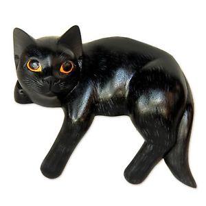 【送料無料】猫 ネコ キャット 置物 ##アートノビカバリ