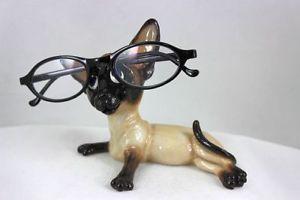 【送料無料】猫 ネコ キャット 置物 ホルダーシャムoptipets optipaws cat eyeglass holder siamese