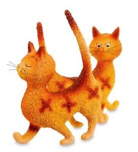 【送料無料】猫 ネコ キャット 置物 ヘックダブ