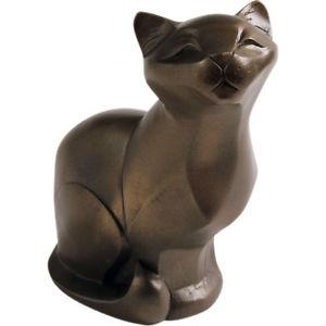 【送料無料】猫 ネコ キャット 置物 アローラギャラリーコレクションブロンズarora gallery collection cat sitting bronze figurine gift for cat lovers