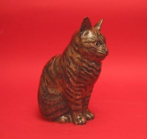 【送料無料】猫 ネコ キャット 置物 ウズラクレメンタイン#クリスマスquail ceramic cat clementine 6034; figurine collectable vet mum christmas gift