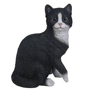 【送料無料】猫 ネコ キャット 置物 インチ