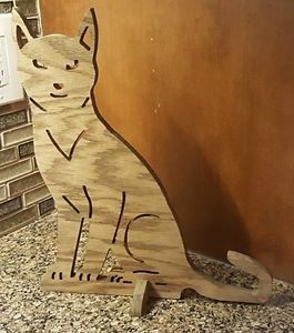 【送料無料】猫 ネコ キャット 置物 cat statue