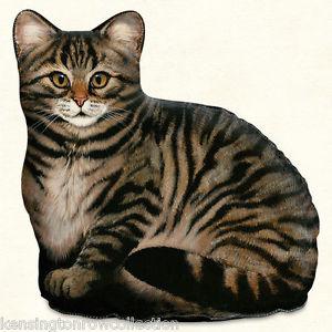 【送料無料】猫 ネコ キャット 置物 ドアストッパーブラウンドアストッパdoor stopper brown tabby cat doorstop tabby cat door stop