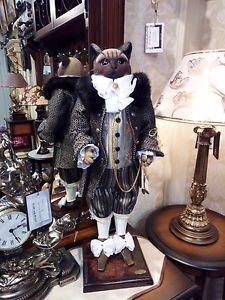 【送料無料】猫 ネコ キャット 置物 コレクションcollection figure cat viscount