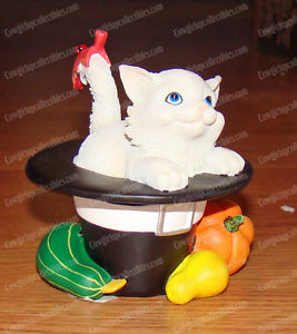 【送料無料】猫 ネコ キャット 置物 ネコyou make me so thankful charming purrsonalities by enesco, 4022705 kitten