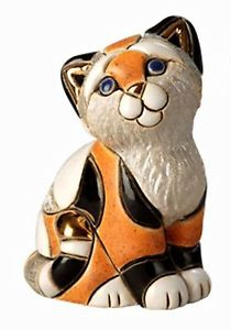 2019春大特価セール! 【送料無料】猫 ネコ キャット gift 置物 キャット デローザオレンジキャラコボックスネコde rosa orange ネコ calico kitten figurine in gift box, AMBER LASH:63e567ca --- canoncity.azurewebsites.net
