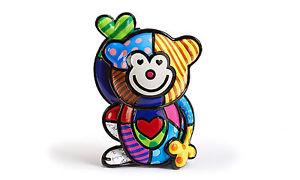 【送料無料】猫 ネコ キャット 置物 ロメロブリットサルインチromero britto monkey figurine 55 inch with coa