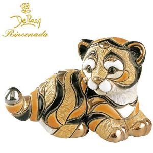 【送料無料】猫 ネコ キャット 置物 デローザベンガルトラde rosa rinconada bengal tiger cub