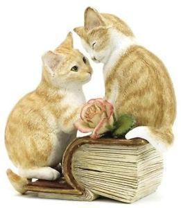 【送料無料】猫 ネコ キャット 置物 アーティストロミオジュリエットcountry artists kitten tales romeo amp; juliet figuring nib