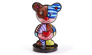 【送料無料】猫 ネコ キャット 置物 ロメロテディベアインチromero bobblehead teddy bear figurine 45 inches