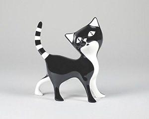 【送料無料】猫 ネコ キャット 置物 cmielow porcelain sweet kitten