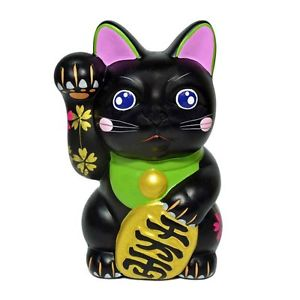 【送料無料】猫 ネコ キャット 置物 #;#;ブラック