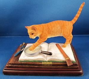 【送料無料】猫 ネコ キャット 置物 ジェームズヘリオットコレクションファームアカウントborder fine arts james herriot studion collection farm accounts