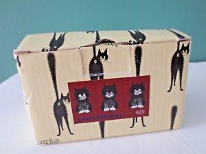 【送料無料】猫 ネコ キャット 置物 ボックスレチャットドダビング#ロー#fabulous in box les chats de dubout dub 24 034;cats in a row034; by parastone