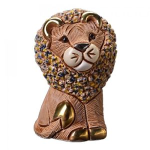 【送料無料】猫 ネコ キャット 置物 デローザブラウンライオンde rosa confetti brown lion