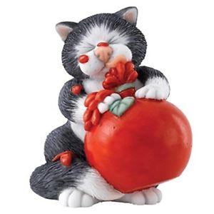 【送料無料】猫 ネコ キャット 置物 コミックcomic and curious cats sauce figurine