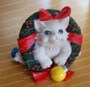 【送料無料】猫 ネコ キャット 置物 ポップハッピーホリデーjust popped inhappy holidays charming purrsonalities by enesco, 4022707